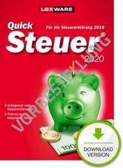 Verpackung von QuickSteuer 2021 (für Steuerjahr 2020) - Vorbestellung [PC-Software]