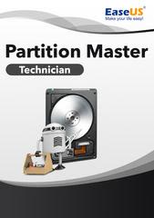 Verpackung von EaseUS Partition Master 14 Technician [PC-Software]