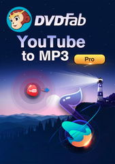 Verpackung von DVDFab YouTube to mp3 (PC) [PC-Software]