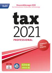Verpackung von tax 2021 Professional (für Steuerjahr 2020) [PC-Software]