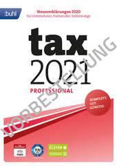 Verpackung von tax 2022 Professional (für Steuerjahr 2021) [PC-Software]