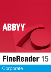 Verpackung von Finereader 15 Corporate [PC-Software]
