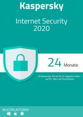 Verpackung von Kaspersky Internet Security 2020 (3 Geräte / 24 Monate) [MULTIPLATFORM]