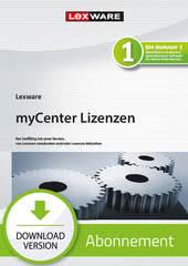 Verpackung von Lexware myCenter std/plus 5 Lizenzen 2021 - Abo Version [PC-Software]