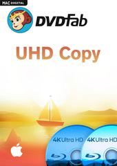Verpackung von DVDFab UHD Copy (1 User / 2 Jahre) Mac [Mac-Software]
