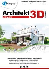 Verpackung von Architekt 3D 20 Ultimate [PC-Software]