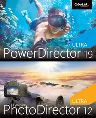 Verpackung von PowerDirector 19 Ultra & PhotoDirector 12 Ultra Duo [PC-Software]