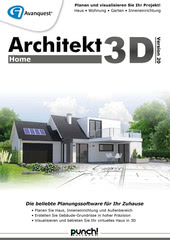 Verpackung von Architekt 3D 20 Home [PC-Software]