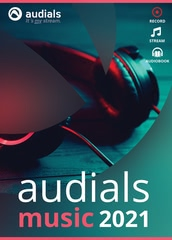 Verpackung von Audials Music 2021 [PC-Software]