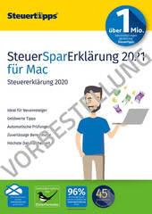Verpackung von SteuerSparErklärung 2022 (für Steuerjahr 2021) Mac - Vorbestellung [Mac-Software]