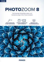 Verpackung von FRANZIS PhotoZoom 8 [MULTIPLATFORM]
