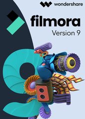 Verpackung von Wondershare Filmora Video Editor 9 - lebenslange Lizenz [PC-Software]