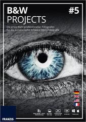 Verpackung von Franzis BLACK & WHITE projects 5 für PC [PC-Software]