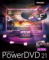 Verpackung von CyberLink PowerDVD 21 Ultra [PC-Software]