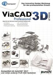 Verpackung von Avanquest ViaCAD 3D Professional Version 10 (Windows) [PC-Software]