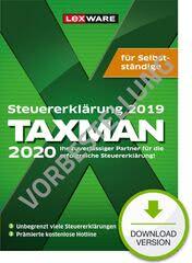 Verpackung von TAXMAN 2021 für Selbstständige (für Steuerjahr 2020) - Vorbestellung [PC-Software]