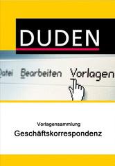 Verpackung von Duden Vorlagensammlung - Geschäftskorrespondenz für PC [PC-Software]