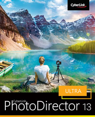 Verpackung von CyberLink PhotoDirector 13 Ultra [PC-Software]