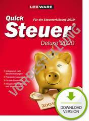 Verpackung von QuickSteuer Deluxe 2021 (für Steuerjahr 2020) - Vorbestellung [PC-Software]