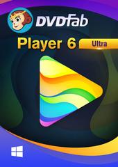 Verpackung von DVDFab Player 6 Ultra PC - 1 User 2 Jahre [PC-Software]