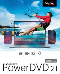 Verpackung von CyberLink PowerDVD 21 Essential [PC-Software]