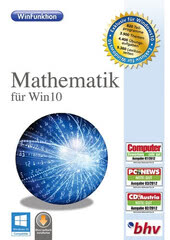 Verpackung von bhv WinFunktion Mathematik für Win10 [PC-Software]