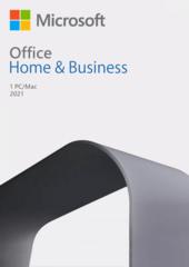 Verpackung von Microsoft Office Home & Business 2021 für PC und Mac [PC-Software]