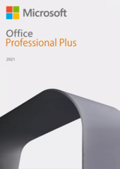 Verpackung von Microsoft Office Professional Plus 2021 [PC-Software]