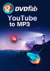 Verpackung von DVDFab YouTube to mp3 Standard PC (Lebenslange Lizenz) [PC-Software]