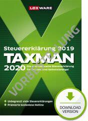 Verpackung von TAXMAN 2021 (für Steuerjahr 2020) - Vorbestellung [PC-Software]