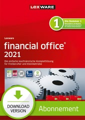 Verpackung von Lexware financial office 2021 - Abo Version [PC-Software]
