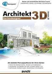 Verpackung von Architekt 3D 20 Gartendesigner [PC-Software]