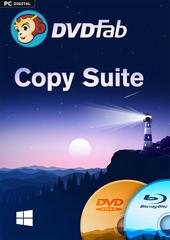Verpackung von DVDFab Copy Suite (DVD Copy & Blu-ray Copy) Lebenslange Lizenz (PC) [PC-Software]