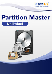 Verpackung von EaseUS Partition Master 14 Unlimited [PC-Software]