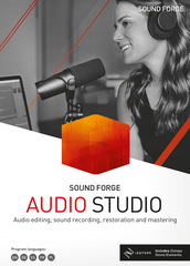 Verpackung von Sound Forge Audio Studio 15 [PC-Software]
