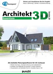 Verpackung von Architekt 3D 20 Essentials [PC-Software]