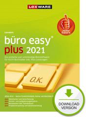 Verpackung von Lexware büro easy plus 2021 - Jahresversion (365 Tage) [PC-Software]