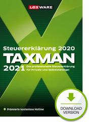 Verpackung von TAXMAN 2021 (für Steuerjahr 2020) [PC-Software]