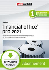 Verpackung von Lexware financial office pro 2021 - Abo Version [PC-Software]