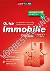 Verpackung von QuickImmobilie Standard 2022 Standard [PC-Software]