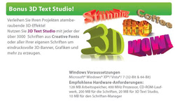 Bild von Creetix Creative Fonts [PC-Software]