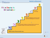 Bild von Fit in Deutsch - Diktattrainer - Klasse 1 [PC-Software]