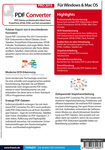Bild von Quick PDF Converter Pro 2015 für PC [PC-Software]