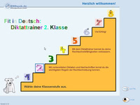 Bild von Fit in Deutsch - Diktattrainer - Klasse 2 [PC-Software]