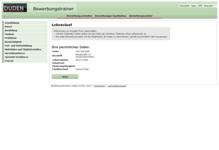 Bild von Duden Duden Bewerbungstrainer für Mac [Mac-Software]