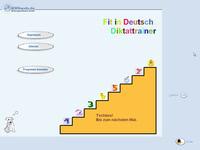 Bild von Fit in Deutsch: Diktattrainer - 4. Klasse [PC-Software]