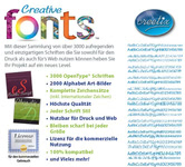 Bild von Creative Fonts [PC-Software]