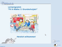 Bild von Fit in Mathe 3. Klasse [PC-Software]