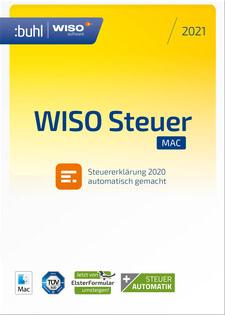 Verpackung von WISO Steuer-Mac 2021 (für das Steuerjahr 2020) [Mac-Software]