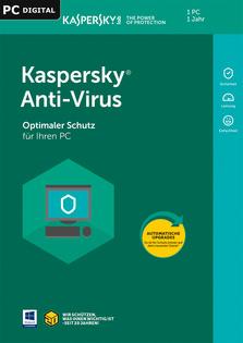 Verpackung von Kaspersky Anti-Virus [PC-Software]